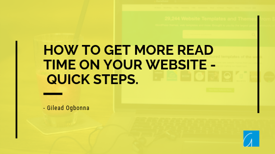 Everything You Ever Wanted to Know About Getting More Reads on Your Website